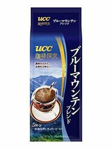 珈琲探究 UCC 珈琲探究 ブルーマウンテンブレンド ドリップコーヒー 5P 40g