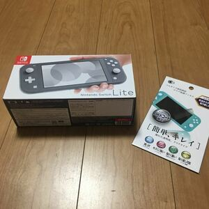 Nintendo Switch Lite グレー 2021年製