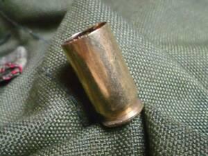 ■米軍実物中古品、使用済 薬莢 ・1発 コルト 45■