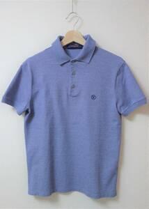 定価6.7万円 未使用品 ルイヴィトン(LOUIS VUITTON)LVサークル ポロシャツ XS ブルーグレー