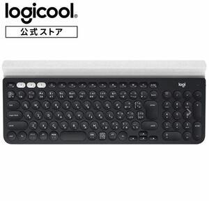 ロジクール ワイヤレスキーボード K780 Bluetooth 無線 キーボード windows mac Chrome iOS