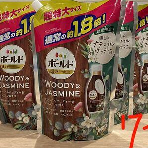 ボールド ナチュラルウッディ&ジャスミンの香り詰替×7