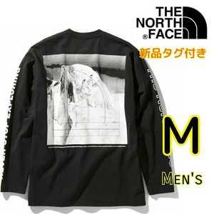 【新品・即決・送料無料】THE NORTH FACE ノースフェイス ヨセミテ グラフィック 長袖 ロンT M ロングスリーブ 黒