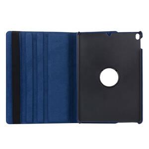【強化ガラスフィルム付き】iPad 10.5in ケース iPad Air 3 (2019) iPad Pro 10.5 (2017) ケース (青) シリコン PU材質 3段階折り畳み可