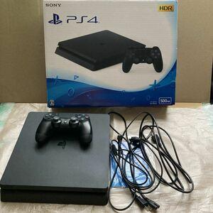 PS4本体 CUH-2100AB01 プレイステーション4 ジェット・ブラック