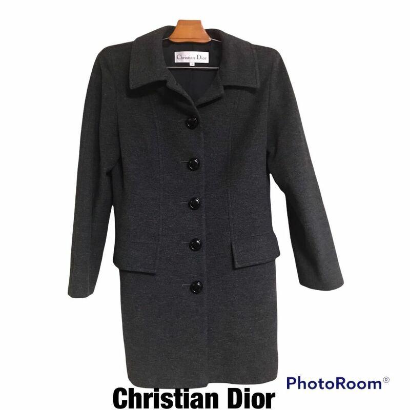 ☆Christian Dior ヴィンテージコート アンゴラ混 美品