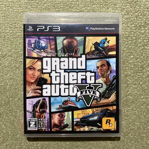 PS3 グランドセフトオートV GTAV グラセフ 即決