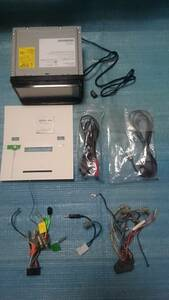 MDV-D404BT ケンウッド メモリーナビ 2016年地図 BluetoothAudio ワンセグTV DVD SD USB CD録音 アンテナ付属 即決