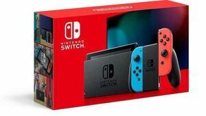 新型モデル ニンテンドースイッチ 本体 Nintendo Switch Joy-Con (L) ネオンブルー/(R) ネオンレッド