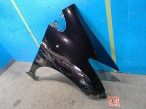 フリード DBA-GB3 右フロントフェンダー 黒パール PB81P [ZNo:03000241] 140938