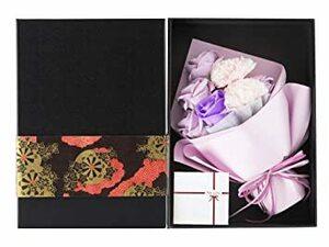 パープル NATURE KIZAWA ソープフラワー フラワーギフト 枯れない花 フラワーボックス 誕生日 プレゼント バレンタ