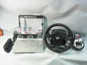 ■THRUSTMASTER■PC/PS3対応■T500 RS Racing Wheel / TH8 RS セット■中古/2■ ★即決★