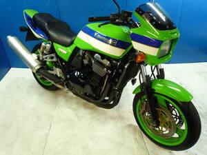 KAWASAK ZRX1100 緑 車検残R4/4月 名変で乗れます 格安配送キャンペーン 諸経費0円 始動確認済み 即納車有り 激安 横浜 都筑 P-Yard