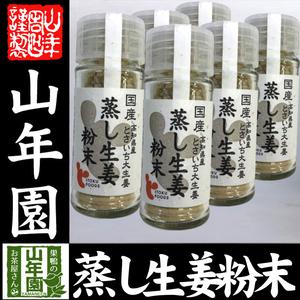 国産100% 蒸し生姜粉末 8g×6個セット 高知県産とさいち大生姜 蒸ししょうがパウダー 送料無料 お茶 敬老の日 2021 ギフト プレゼント