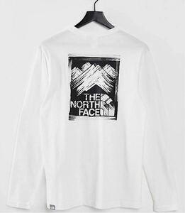 THE NORTH FACE ノースフェイス ロンT 海外限定・日本未発売Tシャツ XS
