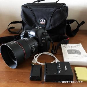 宅配レンタル1日から■EOS 5D MarkⅣ+EF85mm F1.4L IS USM■3,500円/日