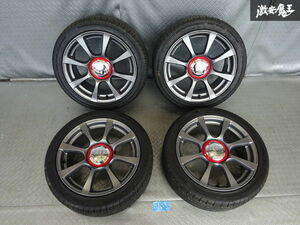 * original FIAT Fiat 500 abarth 16 -inch 6.5J +35 4H 4 hole PCD 98 hub diameter approximately 56mm 195/45R16 tire wheel 4ps.@ immediate payment