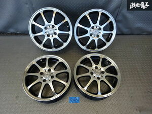 ^ selling out *LAXARNY Loxarny sport 15 -inch 4.5J +45 4 hole 4H PCD 100 hub diameter approximately 66mm wheel 4ps.@ Wagon R AZ Wagon life etc. translation have