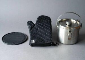 【新品】ホンマ製作所 保存容器 給食缶ミニ 燕三条