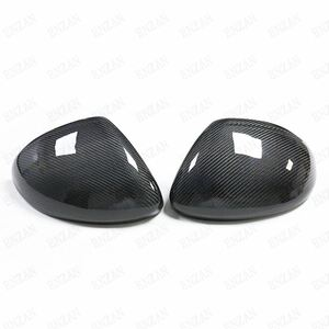 dry carbon made Porsche 718 Boxster Cayman exclusive use cohesion type mirror cover left right set right steering wheel exclusive use free shipping