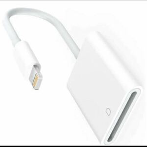 IOS 13 対応 iPhone iPad 用ライトニング iPhone iPadLightning SD カード リーダー 写真