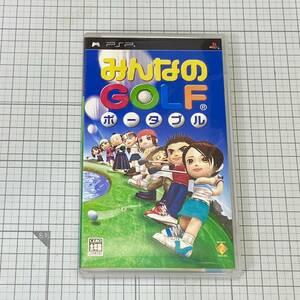 ■ネコポス無料■【みんなのゴルフポータブル 】PSP 中古