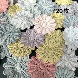 ケミカルモチーフ お花のモチーフ カラフル ハンドメイド