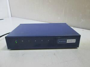 [F1-4]★PLANEX VR500-A1 有線タイプ VPNルーター IPSec・L2TP・PPTP対応★