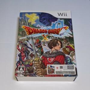 【新品未開封】Wii ドラゴンクエスト10目覚めし五つの種族 ドラクエX