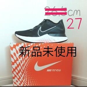NIKE ナイキ リニューラン  Renew Run メンズ Running スポーツ シューズ スニーカー 黒 ブラック 27