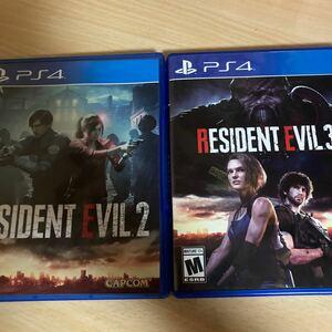 Resident Evil 2 (輸入版:北米) Resident Evil 3 [輸入版:北米]2本セット PS4