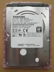500GB HDD 東芝 TOSHIBA MQ01ABF050 S-ATA 2.5inch 厚さ7mm ノートPC用ハードディスク
