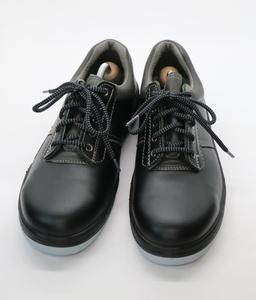 MIDORI ミドリ 安全 282048-SK 安全靴 作業用 ブラック 芯あり 25cm 3E 幅広 ソール剥がれあり 格安 美品