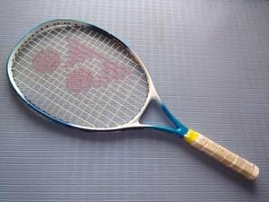 硬式 テニスラケット ヨネックス YONEX ジュニア 子供用 RD Junior 23 中古 グリップエンド無 ブルー系