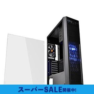 ブラック Thermaltake Versa H26 Black /w casefan ミドルタワー型PCケース [ブラックモデ