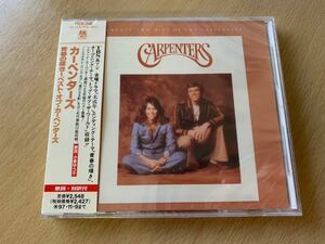 新品未開封 95年盤 カーペンターズ 青春の輝き~ベスト・オブ・カーペンターズ The Carpenters Twenty best 国内盤 帯付CD 送料無料