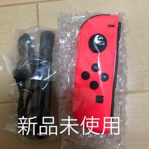 Nintendo Switch Joy-Con (L) ネオンレッド 新品