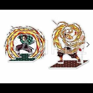 送料無料 鬼滅の刃 アニプレックス ポップアップアクリルマスコット 煉獄杏寿郎 炭治郎 無限列車編 アクスタ ホップアップ 煉獄