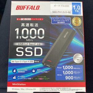 BUFFALO SSD-PH1.0U3-BC 新品未使用