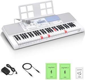 新品 カシオ(CASIO) 光ナビゲーションキーボード LK-515 61鍵盤 鍵盤が光る 初心者でも簡単 指1本でも弾ける 人気の200曲内蔵