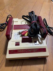 任天堂 ファミコンAV仕様本体のみ Nintendo ファミリーコンピュータ
