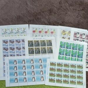 記念切手シート9枚