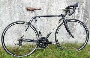 【美品 ほぼ展示品 送料無料*要確認】RALEIGH ラレー  Carlton-F CRF 2012  クロモリ×カーボン  ロードバイク 105