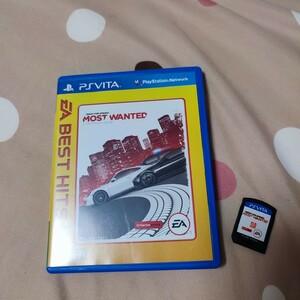 PS Vita ニード・フォー・スピードモスト・ウォンテッド