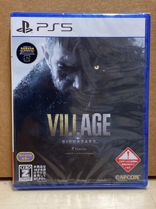 【PS5】 新品 バイオハザード ヴィレッジ Zバージョン 数量限定特典入り