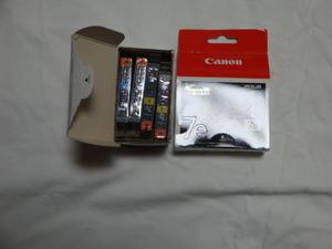 【ジャンク】推奨使用期限切れ 純正品 キャノン(CANON)インクジェット用 インクカートリッジ 7eシリーズ BCI-7eBK等々