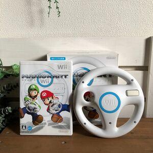 マリオカートWii ☆任天堂♪ Wiiハンドル