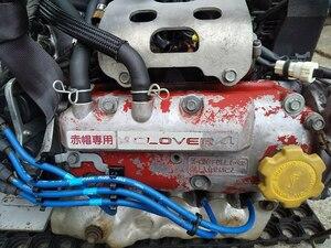 ★赤帽 H15年 11月 LE-TT1 サンバー トラック 2WD 5速 マニュアル ミッション付 エンジンASSY EN07 NA E車 コンピューター付