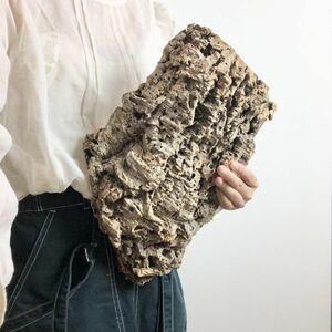 【T6738】 ★2枚組★ 板型 コルク樹皮 エアプランツ エアープランツ チランジア コウモリラン DIY テラリウム 洋蘭 天然素材 爬虫類