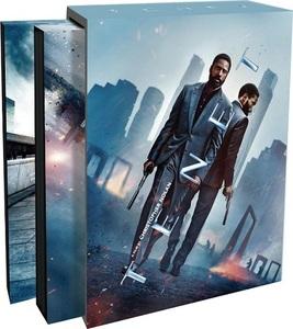 【送料無料】TENET テネット 4KUHD+BD スチールブック Special Boxset (3枚組) [Blu-ray] Steelbook (Import)
